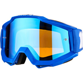100% Accuri Anti Fog Mirror Goggles, reflex blue